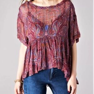 """Free people """"Say You Will"""" Top"""